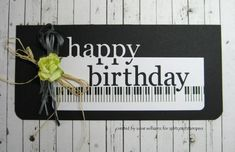 WT518 Happy Birthday by susie australia - Cards and Paper Crafts at Splitcoaststampers