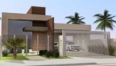 Jdl Desenhos: Residência - Projeto Arquiteta Karine Lunkes - Quatro Pontes PR