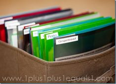 Tips on Storing Printables