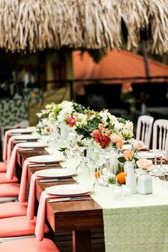 Costa Rica Citrus Inspired Wedding