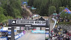 Banshee Bikes Factory Team at 3rd round of MTB World Cup 2014 - Fort William, UK.