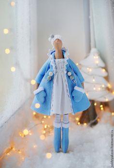 Снегурочка в стиле Тильда. - кукла,кукла Тильда,тильда,снегурочка,Новый Год