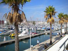 The marina at Lagos, Portugal