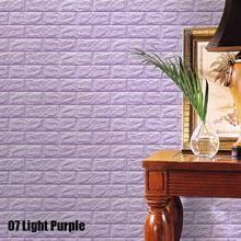 Self-Adhesive Brick 3D Wallpaper