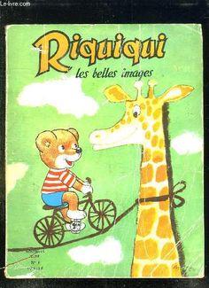 Riquiqui les belles images n° 4. du n° 254 au n° 257. collectif.: VAILLANT. 1966 - 1967.