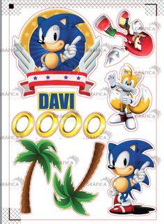 Bolo Sonic, Sonic Cake, Bday Cakes For Girls, Girl Cakes, Bolo Flash, Sonic The Hedgehog Cake, Sonic Birthday, Sonic Boom, Ideas Para Fiestas