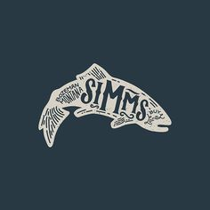 Kevin Kroneberger (@kevkrone) • Instagram | Simms Fishing Products simmsfishing.com #simmsfishing #flyfishing #apparel #design #adventure #lettering #type #customtype #handlettering #trout
