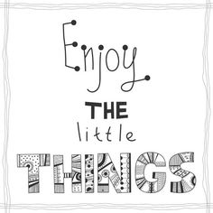 Enjoy the little things, quote Poster ✓ Easy Installation ✓ 365 Day Money Back Guarantee ✓ Browse other patterns from this collection! Little Things Quotes, Party Tableware, Typography Inspiration, Quote Posters, Wallpaper S, Party Supplies, Vector Free, Self, Thoughts