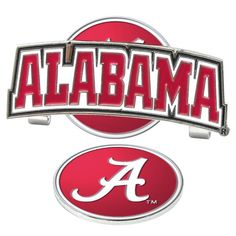 Alabama Crimson Tide-Slider Hat Clip