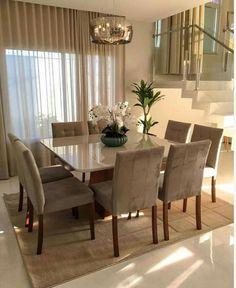 Dining Room Table Decor, Dining Room Lighting, Dining Room Design, Living Room Decor, Dining Chairs, Dining Area, Square Dining Room Table, Kitchen Dining, Table Lighting