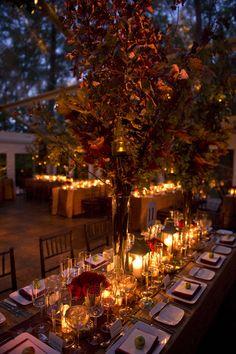 Fall outdoor wedding idea!!