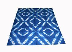 New Handmade Tie & Dye Ac Doher Comforter Bedspread Reversible Bedcover Quilt