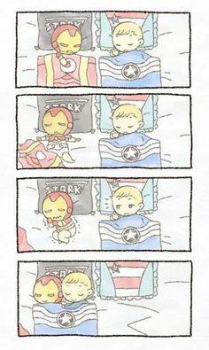 Cap & Tony