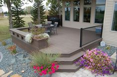 Completed Deck Design & Construction Projects   Fargo-Moorhead Back Patio, Backyard Patio, Trek Deck, Deck Building Plans, Fargo Moorhead, House Deck, Decks And Porches, Outdoor Living, Outdoor Decor