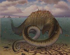 25 Digital Oil Painting Illustrations - 19 - Pelfind