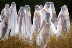 In the spirit: Nude photo shoot marks Day of the Dead - Spencer Tunick