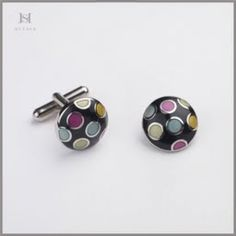 HULBER multicolored cufflinks Cufflinks, Accessories, Wedding Cufflinks, Ornament