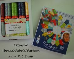 @QuilterPatSloan is giving away a @ModaFabrics #Aurifil kit on her blog!