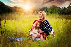 4th of July, Fourth of July, Red white and blue, summer time, North Florida photography, natural light photography, American flag, American Summer, Toddler, Ginger, Red head, mother daughter poses, single mother, Flag posing ideas, Photography, Popular, www.facebook.com/drmanningphotography