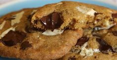 White and Dark Chocolate Chip Cookies Recipe.  Everyone need to have a good chocolate chip cookie recipe from scratch and this White and Dark Chocolate Chip Cookies recipe is just the recipe to try.  CLICK VISIT for FULL RECIPE!