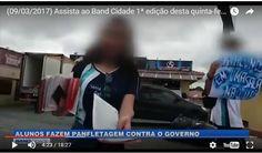RS Notícias: Crime: professores do Paraná põem alunos para dist...