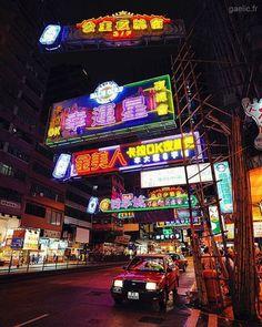 Street signs #hongkong #hk #night #citylights #cityscape #travel (à Hong Kong)