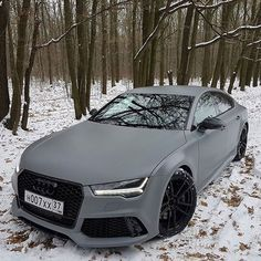 Good Morning #CWLFamily...Nardo Grey RS7 FTW | owner @maksim_dobychin | #carswithoutlimits #audi #rs7