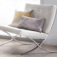 "Concrete Satin-Like Decorative Pillow 13"" X 20"""