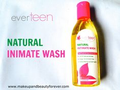Intimate hygiene is an extremely important issue to be honest and I am glad that Indian companies are coming up with intimate care products. I was really happy to know about Everteen Natural Intimate Wash as this product claimed to be all natural. If you guys have been following my blog, you know I am obsessed with natural body care.