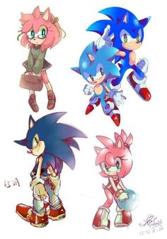 Sonic and Amy sketches Sonic Mania, Sonic And Amy, Sonic Fan Art, Sonic Boom, Sonic The Hedgehog, Silver The Hedgehog, Shadow The Hedgehog, Shadow And Amy, Sonic And Shadow