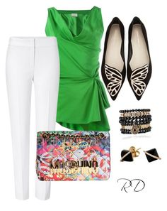 """""""Untitled #38"""" by mschannel on Polyvore featuring Lanvin, ESCADA, Moschino, Sophia Webster, Samantha Wills, Madyha Farooqui, women's clothing, women's fashion, women and female"""