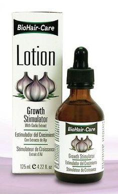Bio Hair Care Lotion Growth Stimulator with Garlic Extract 4.22 oz