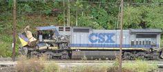 CSX Train Wreck | photo