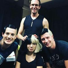 Maddie in Sia family