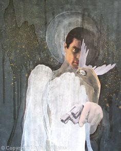 Guardian Angels N° 1 - Collage - Original