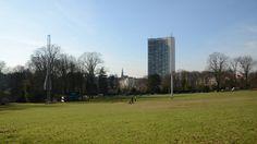 Schaarbeek Sint-Sebastiaansgilde (foto Josaphatpark met 2 wippen) 2013