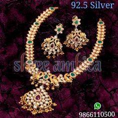 Shree Ambica pearls and Jewellers Silver jewellery Pacchi necklace 9866110500 Silver Jewellery, Jewels, Bracelets, Jewerly, Bracelet, Gemstones, Fine Jewelry, Gem, Arm Bracelets