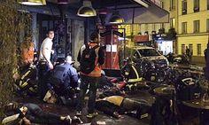 EM DIA DE TERROR, ATENTADOS MATAM MAIS DE 120 EM PARIS