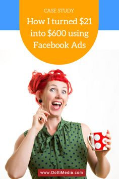 How I turned $21 into $600 using Facebook Ads for a local business.. Turning 21, Instagram Story, Social Media Marketing, Ads, This Or That Questions, Facebook, Business, Blogging, Posts