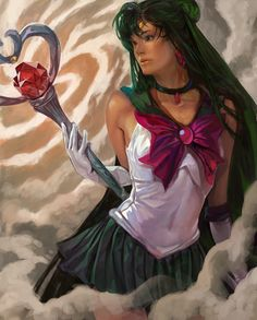 Sailor Pluto by ~k-BOSE on deviantART