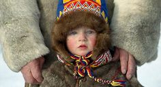 The traditional reindeer herders of Russia, the indigenous Sami tribes people, are building specific ethno-tourism facilities in a recreated village in Russia's Far North. Russia, Winter Hats, Legends, My Style, Children, People, Life, Tourism, Travel