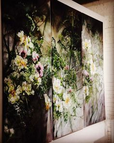 Beautiful art, flowers. Photo or painting. Claire Basler - Galery K35 Moscou