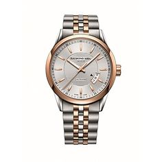 Men's Wrist Watches - Raymond Weil Freelancer Automatic Silver Dial Twotone Mens Watch 2730SP565021 ** Check out the image by visiting the link. (This is an Amazon affiliate link)