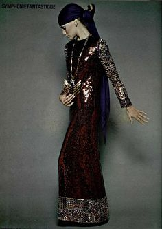 #1969 #60s fashion #CHRISTIAN DIOR