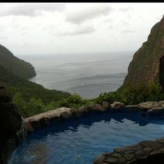 Ladera hotel St Lucia