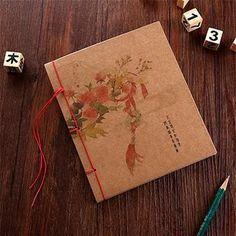 Vintage Notebook Hardcover Composition Book