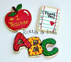 ABC Teacher Cookies