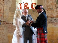 Tying the Knot ceremony.  Photograph by Cherry Thatcher