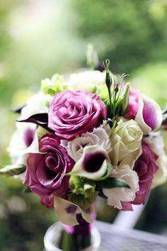 Beautiful purple bouquet