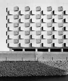Belgacom, Gent. Car park, Belgium. photo: Philippe Brysse